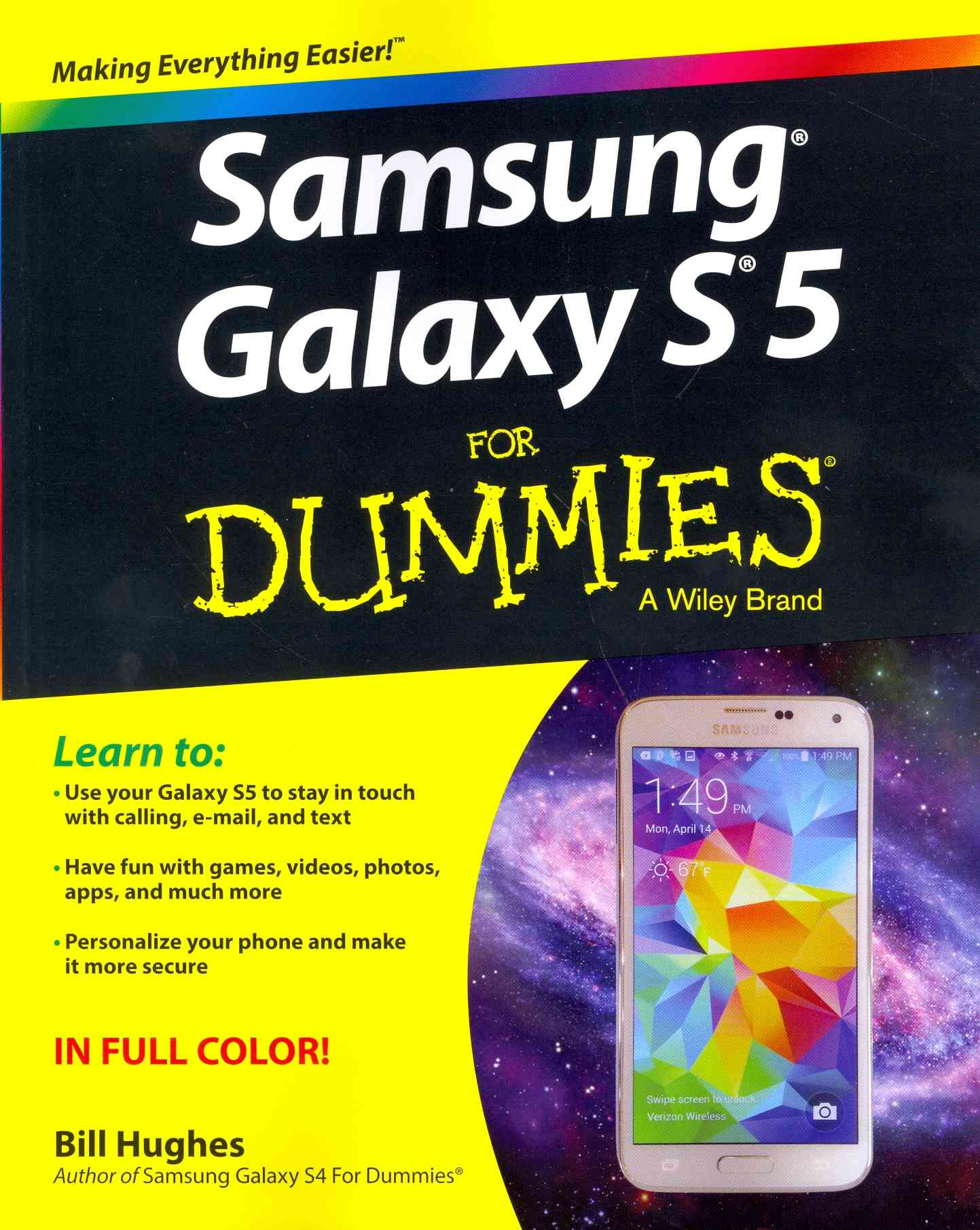 Samsung Galaxy S5 for Dummies By Hughes, Bill